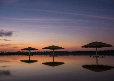 Atardecer - Ecotur Laguna Blanca