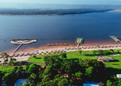 Vista area lago - Ecotur Laguna Blanca