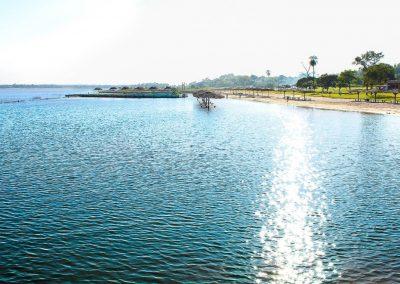 Vista desde el mar - Ecotur Laguna Blanca